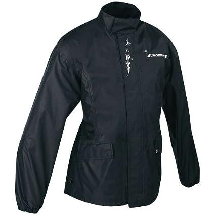 Ixon - Veste de pluie moto BASIC - Taille : M - Couleur : Noir [Divers]