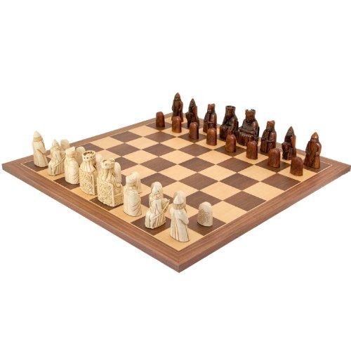 Isle of lewis chessmen official chess set - Lewis chessmen set ...
