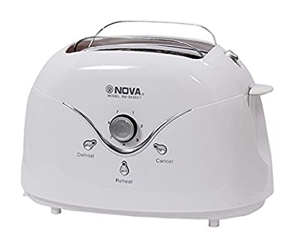 Nova RX-2235 CT 2 Slice Pop Up Toaster
