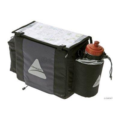 Axiom Joliett DLX Handlebar Bag: Black
