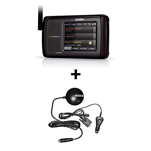Uniden-HomePatrol-2-Touchscreen-Phase-II-Digital-Scanner-plus-BC-GPSK-GPS-Receiver-BUNDLE
