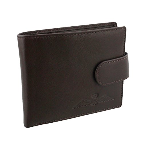 raf-braun-leder-single-fold-wallet-mit-geld-pocket-raf369