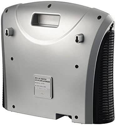 Dual HEPA Carbon Filter Ozonator Negative Ion Generator With Remote (C) and it comes with 1 yr warranty