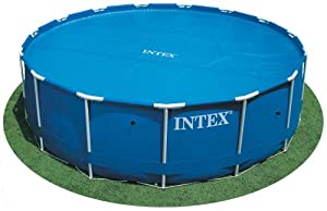 Intex solar cover for 16ft diameter easy set and frame pools swimming pool covers for A swimming pool is circular with a 40 ft diameter