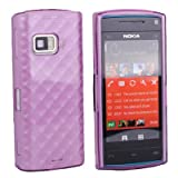 Premium Quality Translucent Purple Soft Skin Gel Case / Tasche H�lle f�r Nokia X6