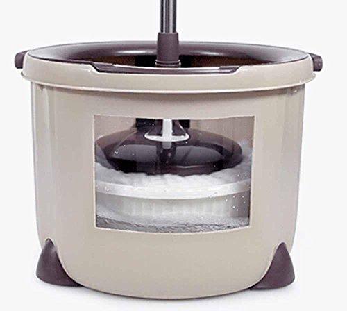fashion-household-mop-mop-bucket-double-drive-auto-dry-effort-mop-bucket-single-barrel-spin-mop