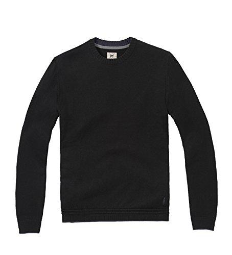 lee-crew-knit-felpa-uomo-black-medium-medium