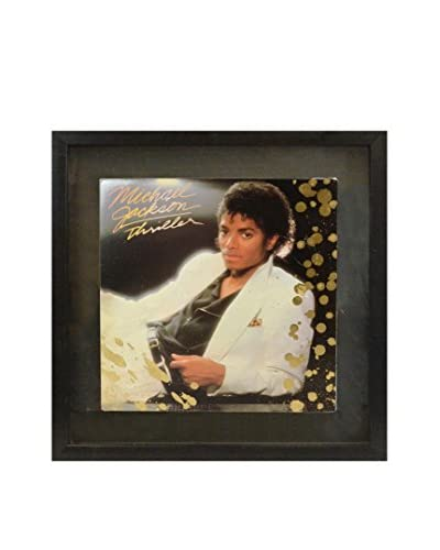 Aviva Stanoff Michael Jackson Thriller Cover with Gold Paint