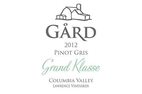 """2012 Gard Vintners """"Grand Klasse"""" Reserve Pinot Gris 750 Ml"""