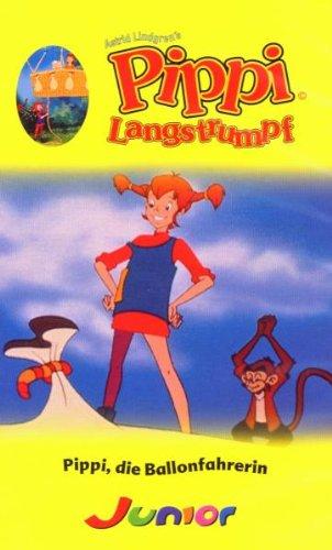 Pippi Langstrumpf - Pippi, die Ballonfahrerin (Zeichentrick) [VHS]