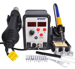 Ce Approved Durable Top Quality Easy Control Lead Free Resistance Soldering Smd Rework Solder Station