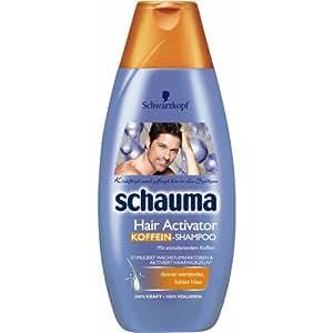 schauma hair activator koffein shampoo 400 ml. Black Bedroom Furniture Sets. Home Design Ideas