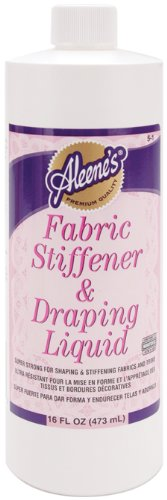 Purchase Aleenes fabric stiffener &draping liquid