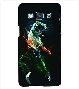 ColourCraft Dance Back Case Cover for SAMSUNG GALAXY E5