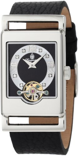 Burgmeister Delft BM510-122 Ladies Automatic Analogue Watch with Black Dial