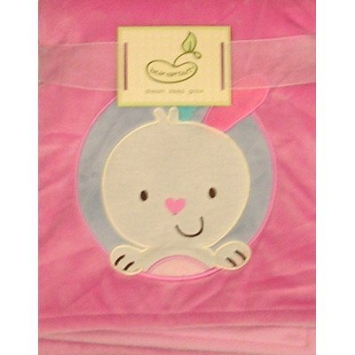 Beansprouts Micro Blanket, Pink Bunny front-763318