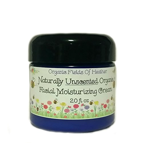 Organic Facial Moisturizer - 100% All Natural Non-Gmo Face Cream - Light & Naturally Unscented - 100% Certified Organic Ingredients - Anti-Aging - For Women Or Men - Will Not Dry Out Your Skin Or Leave A Long Lasting Oily Residue. Will Heal Your Damaged S front-498421