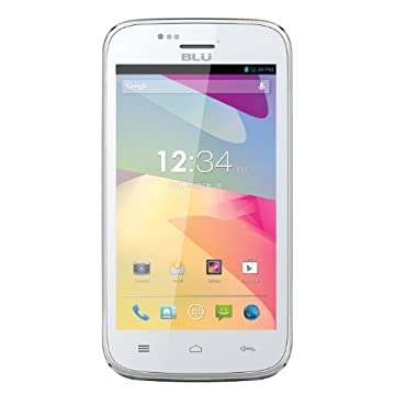 BLU Advance 4.0 Unlocked Dual SIM Phone (White)