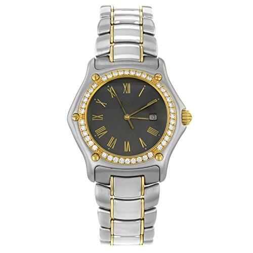 Ebel 19111087911/5260P or 18K & quartz en acier hommes de montre
