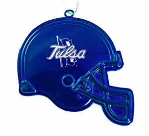 University of Tulsa - Chirstmas Holiday Football Helmet Ornament - Blue by LXG, Inc.