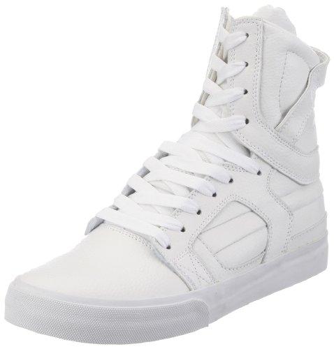 Supra Skytop 2 S01031, Sneaker uomo, Bianco (Weiß (WHITE - WHITE   WHT)), 44.5