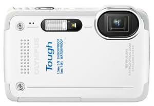 Olympus Stylus TG-630 Appareil photo numérique compact 12 Mpix Tout-terrain Étanche 5 m Blanc