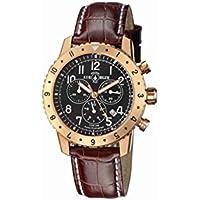 Air Blue Professional Chronograph Mens Watch (Black Dial)