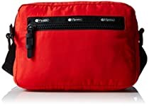LeSportsac Women's Travel Convertible Belt Bag, Classic Red T