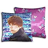 "Justin Bieber SEASIDE "" I Love JB"" 16"" x 16"" Throw Decorative Pillow"