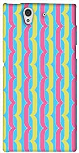 Timpax protective Armor Hard Bumper Back Case Cover. Multicolor printed on 3 Dimensional case with latest & finest graphic design art. Compatible with only Sony L36H - Sony 36. Design No :TDZ-21536