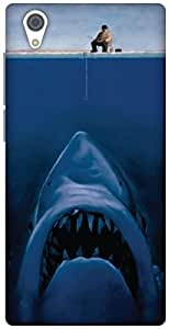 The Racoon Lean It's a big'un hard plastic printed back case / cover for Vivo Y51