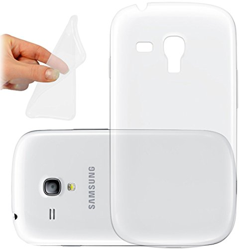 OneFlow PREMIUM - AERO-CASE aus transparentem Silikon (Ultra Slim) - für Samsung Galaxy Trend / Trend Plus (GT-S7560 / GT-S7580) - FARBLOS