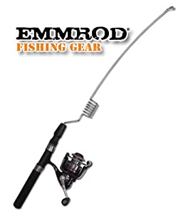 Emmrod packrod fishing combo 6 coil topwater for Open face fishing rod