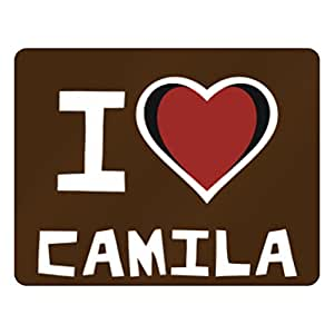 Amazon.com - Teeburon I love Camila Horizontal Sign -