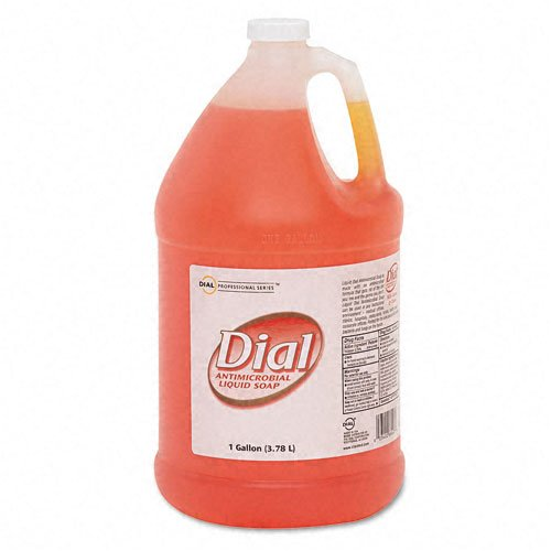 Liquid Dial : Liquid Gold Antimicrobial Soap, Unscented Liquid, 1Gallon Bottle -:- Sold as 2 Packs of - 1 - / - Total of 2 Each