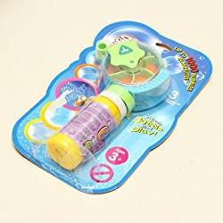 Bubble Machine Manual Fan Gun Bubble Machine Children Gift