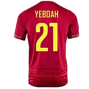 Puma Yeboah #13 Ghana Away Jersey World Cup 2014 (M)