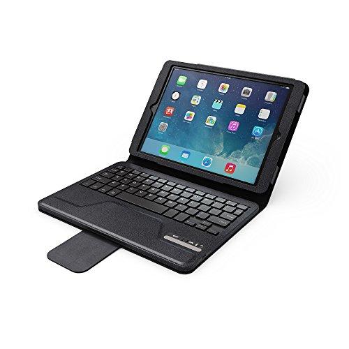 Hipstreet Bluetooth Keyboard Portfolio Case For Ipad Air, Black