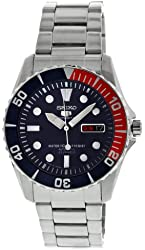 Seiko Men's SNZF15J1 Dark Blue Dial Watch