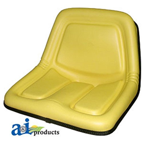 TY15863 Seat High Back Yellow Fits John Deere:STX30,STX38,130,160,165,316,318,