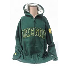 NCAA Oregon Ducks Sherpa Hoodie, Large by Donegal Bay