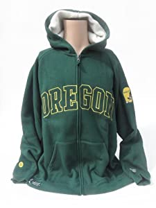NCAA Oregon Ducks Sherpa Hoodie, XX-Large by Donegal Bay