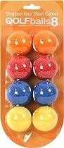 QOLFballs (8 pack multi-colored balls)
