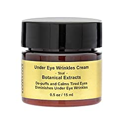 Under Eye Wrinkles Cream with Botanical Extracts Shrink Eye Bags Night Cream - 15ml