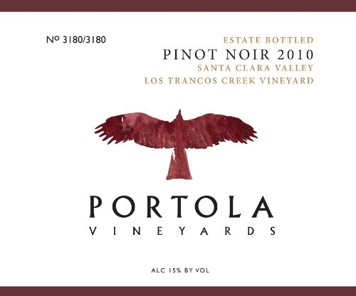 2010 Portola Vineyards Estate Pinot Noir 750 Ml
