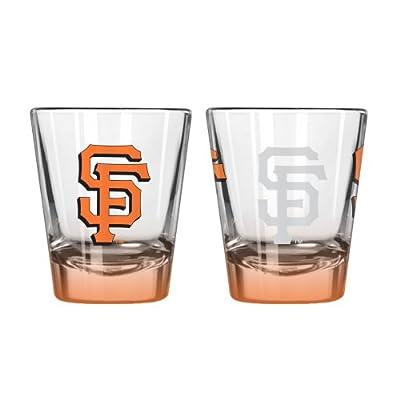 MLB San Francisco Giants Elite Shot Glass Set (2-Pack), 2-Ounce