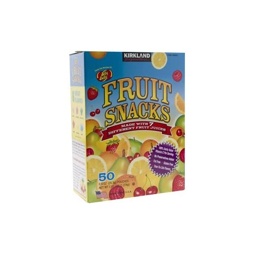 Amazon.com : Kirkland Signature Jelly Belly Fruit Snacks 6 Flavors