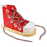Melissa & Doug - 13018 - Loisir Créatif - Chaussure à lacer en bois