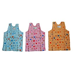 NammaBaby New Born Vest -Jhabla SET OF 3 (6-12 months) L