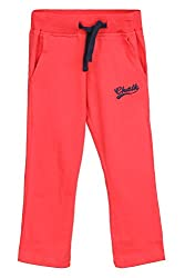Chalk by Pantaloons Boy's Regular Fit Track Pant(205000005608269, Red, 4-5 Years)